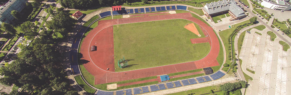 Stadion lekkoatletyczny MOOSiR (fot. Wojciech Habdas)