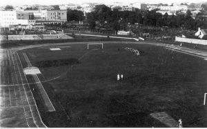 Stadion w Kielcach w 1939 roku (Narodowe Archiwum Cyfrowe)
