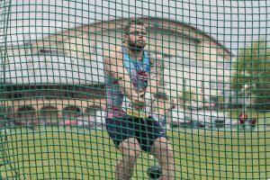 Paweł Fajdek rzucił młotem 81,51 m (fot. Michał Walczak)