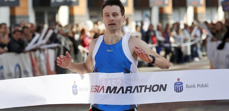 05.10.2014 - Katowice.  Silesia Marathon 2014 . Fot. Dawid Markysz / EDYTOR.net