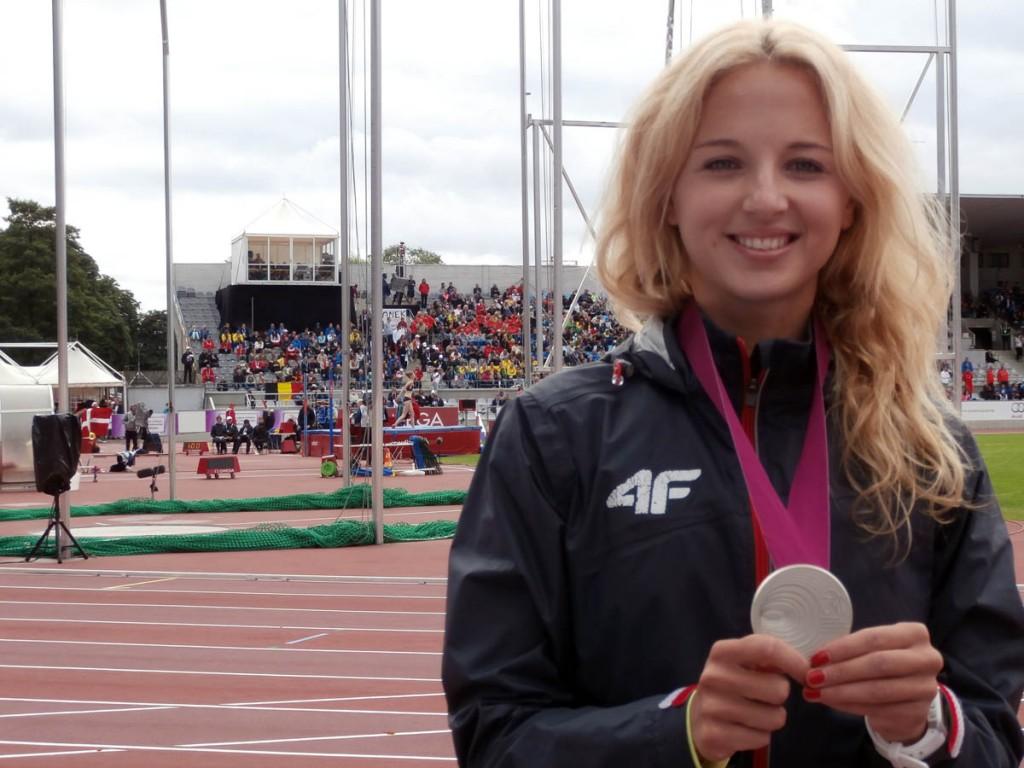 Karolina Kołeczek, Pierwsza Dama Świętokrzyskiej Królowej Sportu w 2015 roku (fot. Andrzej Mirek)