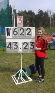 Anna Dąbrowska poprawiła rekord życiowy w rzucie dyskiem o 2 m 20 cm