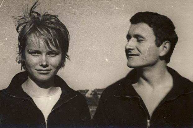 Teresa Pietrzyk z Budowlanych i Zbigniew Jędrzejczyk z MKS Kielce