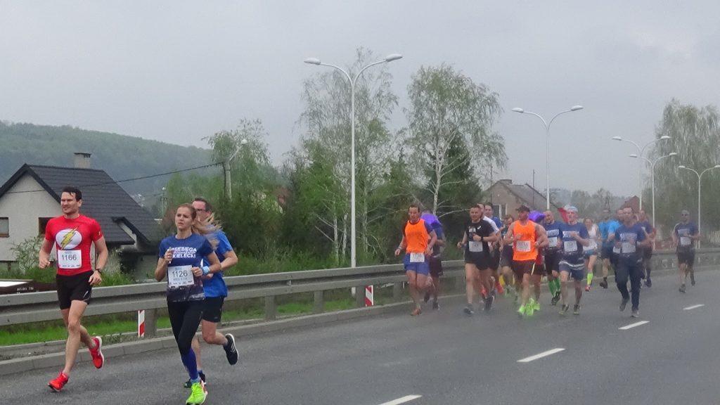 Biegacze na ul. Krakowskiej, z nr. 1126 Wioletta Jończyk