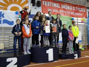 Tyczkarze KKL Kielce na festiwalu w Gdyni (archiwum Agnieszki Wrony)